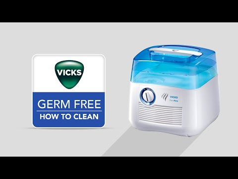 Vicks Germ Free Cool Mist Humidifier V3900 - How to Clean