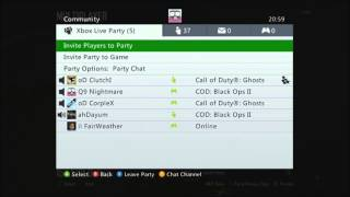 Best xbox live party ever?