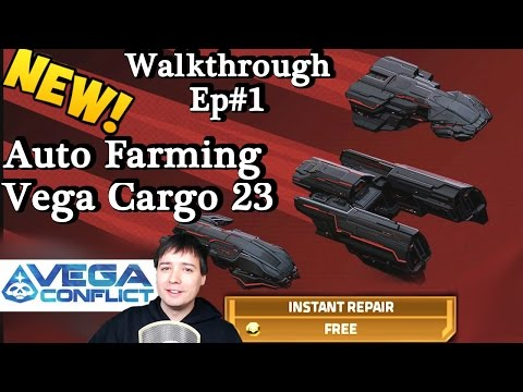 VEGA Conflict OLD Auto-Fleet Tutorial: Tier 1 (20-23 Cargo) Check Video Description!
