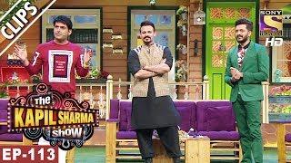 Kapil Welcomes Riteish Deshmukh & Vivek Oberoi- The Kapil Sharma Show - 11th Jun, 2017