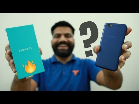 Honor 7S Budget Phone Unboxing & First Look + Giveaway