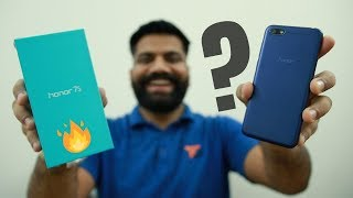 Honor 7S Budget Phone Unboxing & First Look + Giveaway 🔥