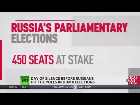 Day of silence before Russians hit the polls (Duma elections 101)