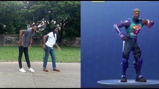 FORTNITE DANCE CHALLENGE/ FORTNITE DANCES IN REAL LIFE