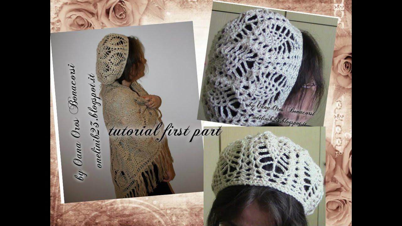 Crochet Pineapple Stitch Beret I Youtube