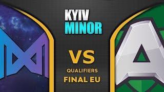 Nigma vs Alliance [EPIC] EU Final Starladder SL Kyiv Minor 2020 Highlights Dota 2