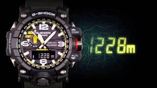Часы Casio G-SHOCK MUDMASTER GWG-1000(Наручные часы Casio G-SHOCK из серии GWG-1000 MUDMASTER. Повышенная влаго и грязеустойчивость., 2015-09-09T10:30:40.000Z)