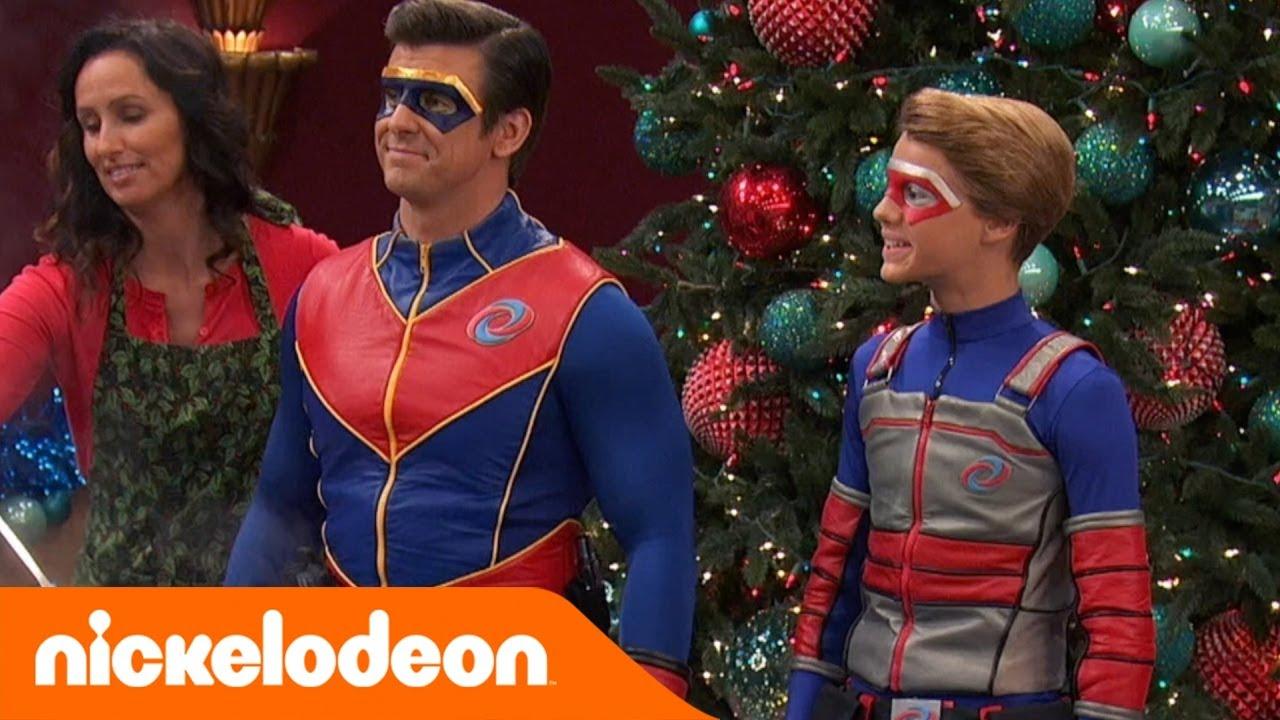 Henry Danger Fail Di Natale Per Capitan Man Nickelodeon Italia