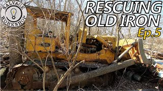Exploring the FORGOTTEN Junk Yard ~ RESCUING OLD IRON ~ Episode 5 P1 ~ Heavy Equipment & MUCH MORE!