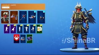 [PATCH 6.1] ALL LEAKED SKINS [3D-MODEL] IN-GAME SHOWCASE! FORTNITE BATTLE ROYALE