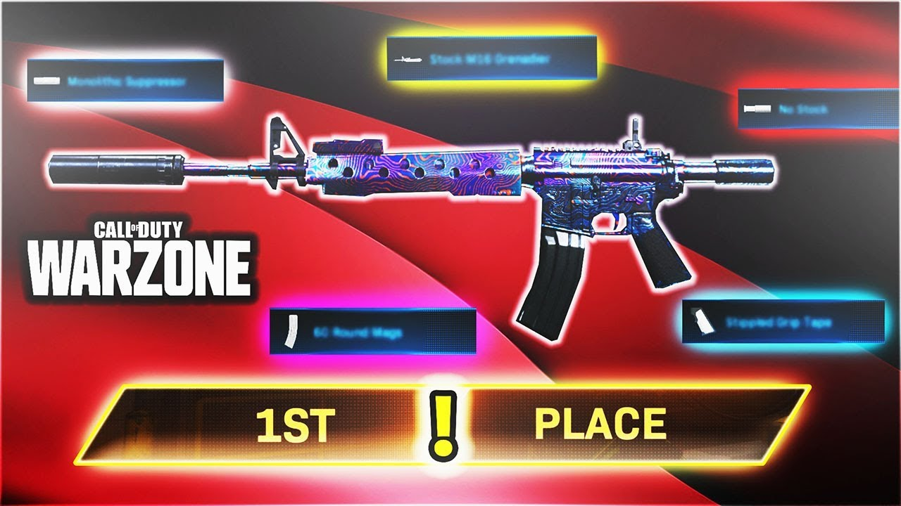 These Special Attachments Make The M4a1 Op On Warzone Best Warzone Loadouts Cod Warzone Ps4 Youtube