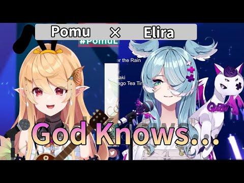 【NIJISANJI EN】 God Knows // covered by Pomu(ポム) × Elira(エリーラ) 【にじさんじ切り抜き】
