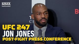 UFC 247: Jon Jones Post-Fight Press Conference - MMA Fighting