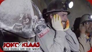 Joko gegen Klaas Bolivien: Klaas als Höhlen-Sprengmeister |  Das Duell um die Welt | ProSieben