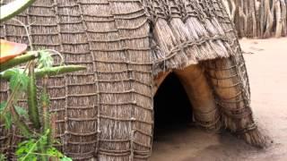 2014 Swaziland   Mantenga Swazi Cultural Village, Huts, by HabariSalam