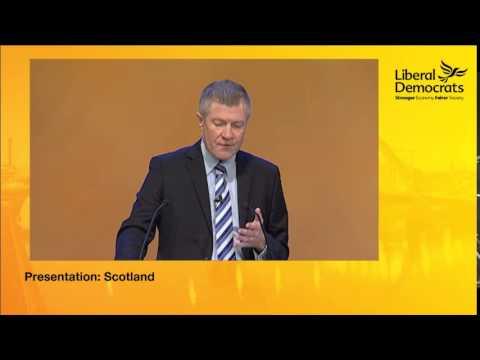 Willie Rennie MSP Speech to Liberal Democrat Autumn Conference 2014