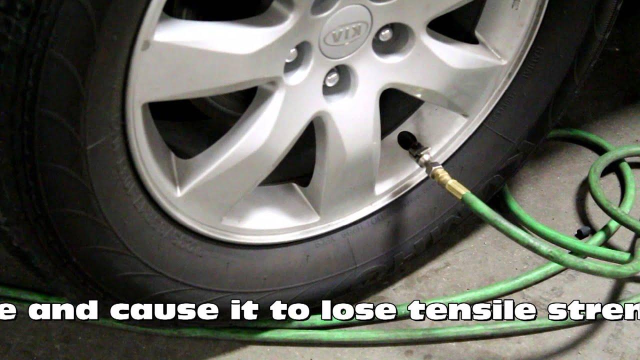 Nitrogen In Tires >> Benefits Of Nitrogen Filled Tires