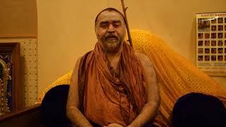 Message from Sri Kanchi Kamakoti Peetam - Sri Sankara Vijayendra Saraswathi Swamigal