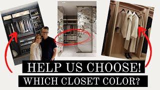 Luxury Closet Makeover on a Mid Budget | Luxury Closet | INTERIOR DESIGN | HOUSE OF VALENTINA