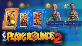 We Pulled Our First Legend on Nba Playgrounds 2