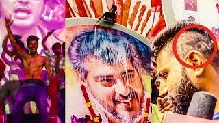 Thala Ajith fans  FULL MASS Celebration   DC 179