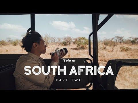 Trip to South Africa   KRUGER SAFARI EXPERIENCE -  Vlog 02