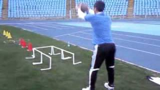 agility ,coordination  and speed reaction training