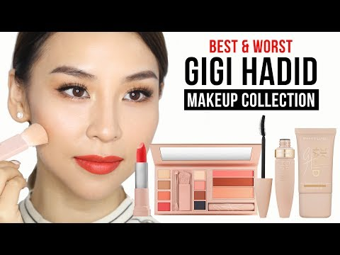 Best & Worst Products in Gigi Hadid X Maybelline Makeup Line  - Tina Tries It