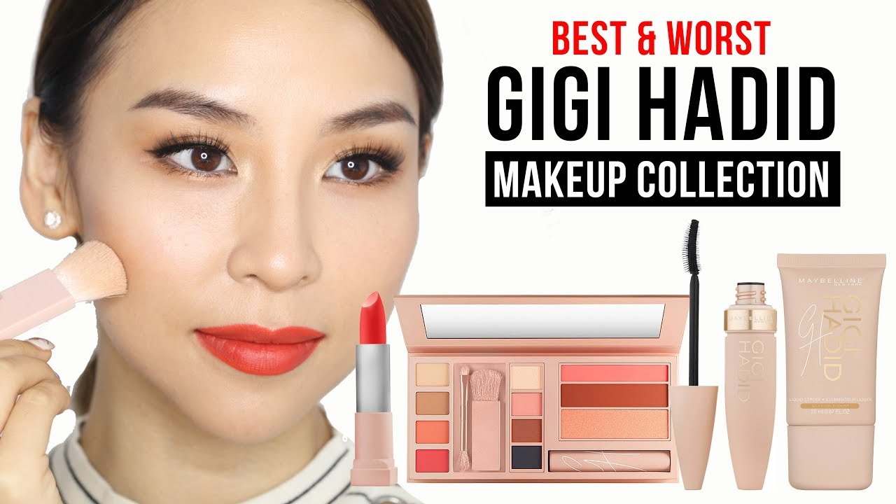 Best & Worst Products in Gigi Hadid X Maybelline Makeup Line – Tina Tries It