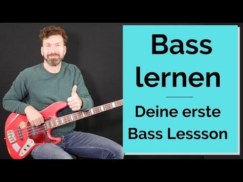 Bass lernen -