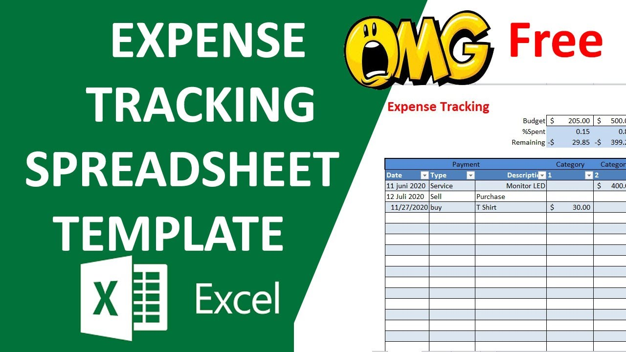 19/04/2017· daily expense tracker template excel is an imperative instrument for your business and venture administration. Expense Tracking Spreadsheet Template Simple Budgeting Free Youtube