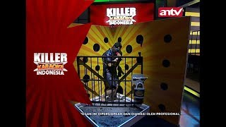 Main di tembok waswas, muka Qodar belepotan! – Killer Karaoke Indonesia