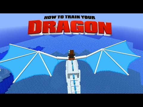 Minecraft - HOW TO TRAIN YOUR DRAGON - Golden Dragon Egg [34]