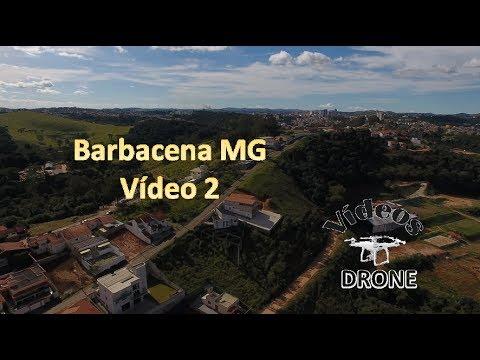 DRONE Voando em Barbacena MG Video 2 Vista da Cidade e volta na Vila Toscana
