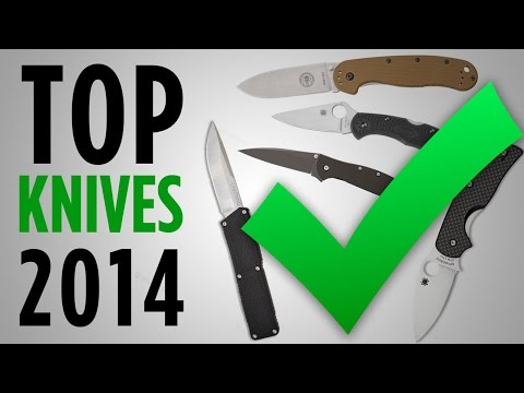 Top 5 Folding Knives Of 2014