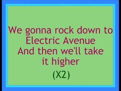 Eddy Grant - Electric Avenue Lyrics
