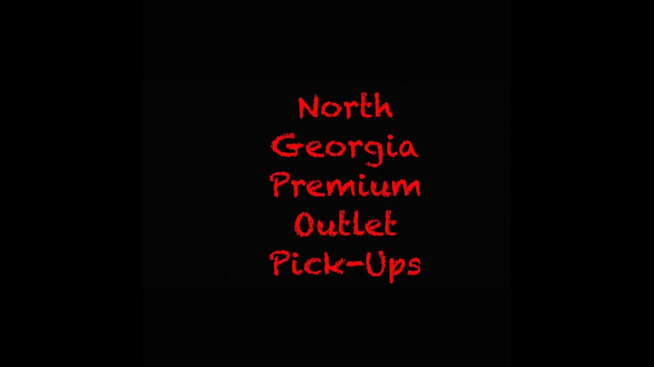 d007f99e6469 North Georgia Premium Outlet finds at Nike..... - YouTube