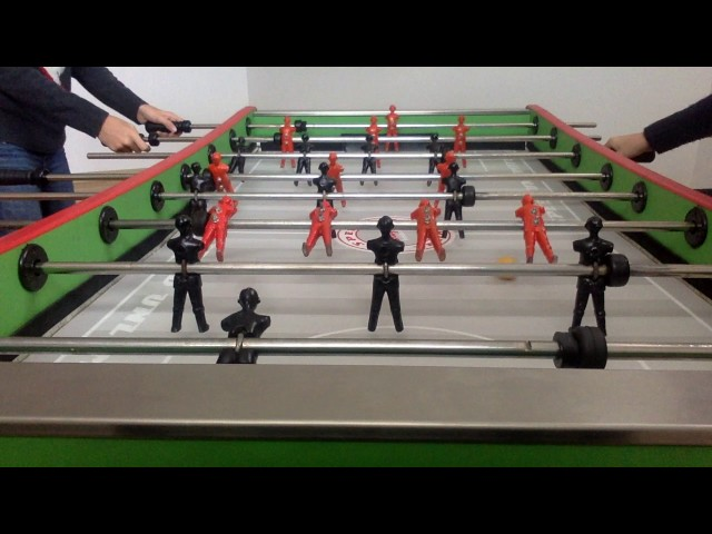 Foosball The first Competition