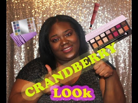 """CRANBERRY INSPIRED LOOK!!! WHAT I""""M USING NOW!!!"""