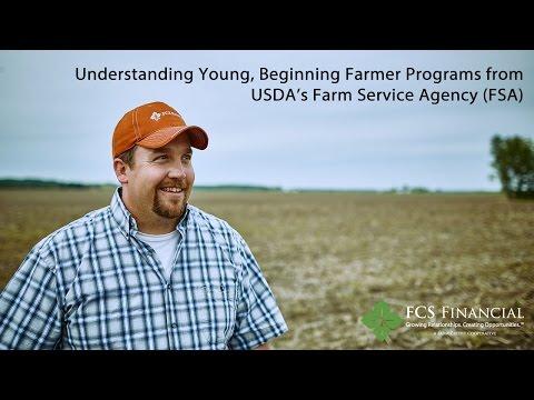Understanding Young, Beginning Farmer Programs from USDA FSA