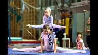 Городские соревнования по акробатике, ЦСКА Киев, 23-25 декабря 2014 года