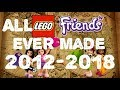 ALL LEGO FRIENDS Sets Ever Made 2012-2018 (Sets, Polybags, Promotional gears...)