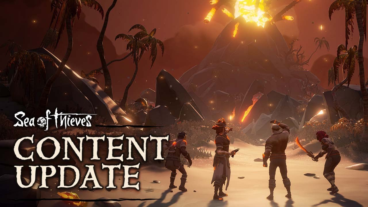 Sea of Thieves: Forsaken Shores - Content Update