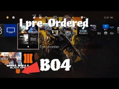 I Pre-Ordered BO4  COD: BLACK OPS 3*