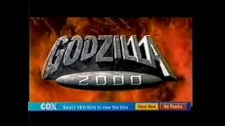Godzilla 2000 - Y2K Spot
