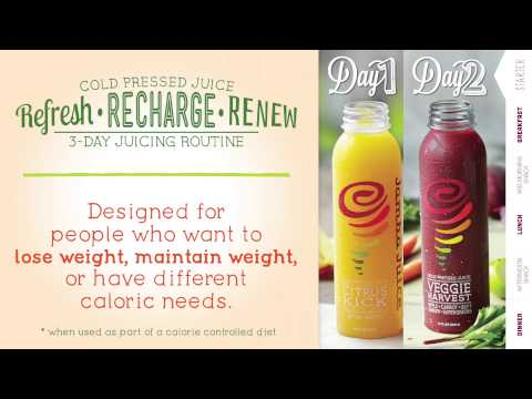 Jamba Juice - Cold Pressed Juice