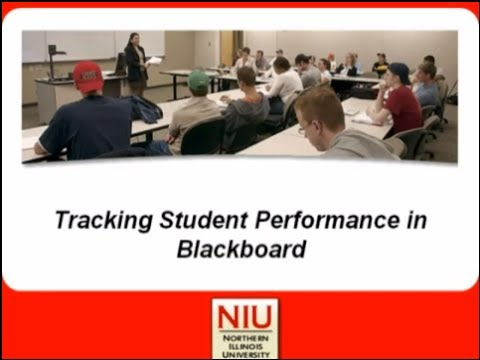 Tracking Student Performance in Blackboard