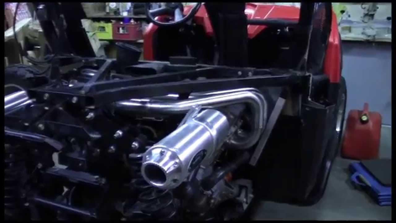 polaris rzr 800 install barkers dual exhaust
