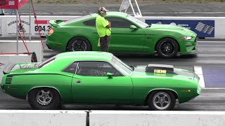 Old vs New School - drag racing