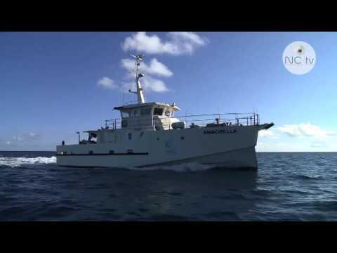 """NCTV, """"Entre terre et mer"""", la vie à bord de l'Amborella, Nouvelle-Calédonie"""